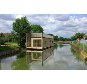 Habitat flottant AquaPartement 50 m²