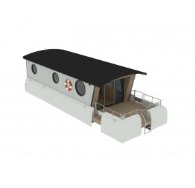 Maison flottante Lodges boats Aquamarine 11.5 deux chambres