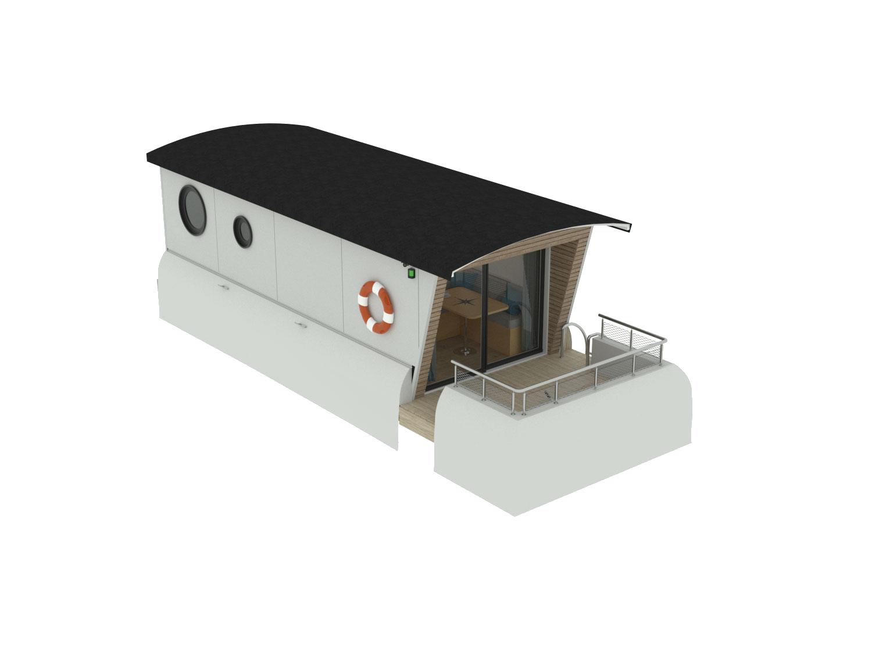 Hébergement flottant Aquamarine 9.5